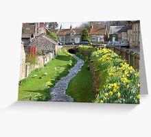 Helmsley, North Yorkshire, England Greeting Card
