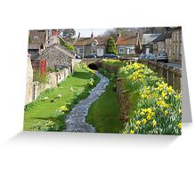 Helmsley, North Yorkshire, England Greeting Card