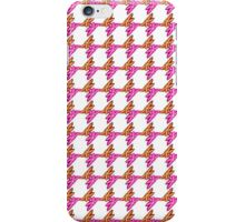 Floral Pattern with White Background iPhone Case/Skin