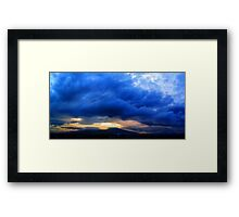 ©HCS Blue One Framed Print