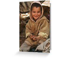 Berber Child Greeting Card