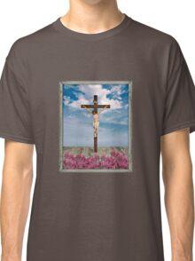 Jesus on the Cross Illustration Classic T-Shirt