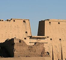 Edfu Temple by rhallam