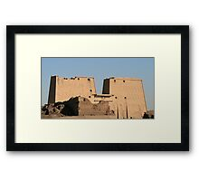 Edfu Temple Framed Print