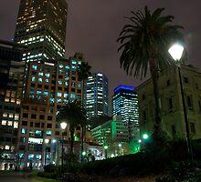 Melbourne CBD by Kostas Williams