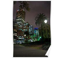 Melbourne CBD Poster