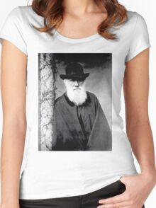 Charles Darwin Women's Fitted Scoop T-Shirt