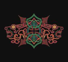 Celtic Heads by Derek Smith
