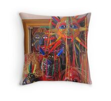 MASKED MADNESS~! Throw Pillow