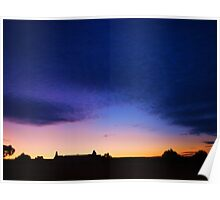 Sunset & Silhouettes Poster