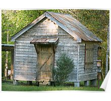 """Small Historically Preserved Structure"" Poster"