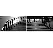 Floating Bridge (diptych 3/4) Photographic Print