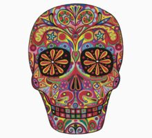 Day of the Dead Sugar Skull shirt Kids Clothes