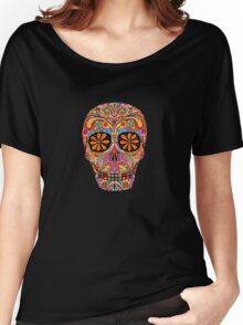 Day of the Dead Sugar Skull shirt Women's Relaxed Fit T-Shirt