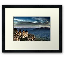 Three Sisters - Blue Mountains NSW Framed Print