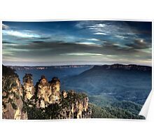 Three Sisters - Blue Mountains NSW Poster