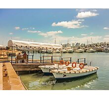 Sunny Morning at the Port of Punta del Este Photographic Print