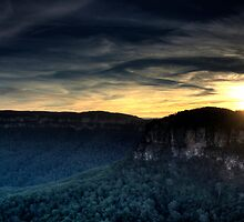 Echo Point Sunset by Bill Fonseca