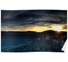 Echo Point Sunset Poster