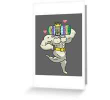 Mister King of the Cosmos Greeting Card