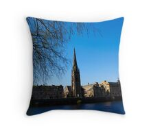 Tay street over the Tay Throw Pillow