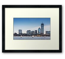 Boston Sails Framed Print