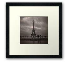 Damien's Paris Holiday Framed Print