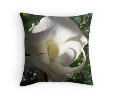Angels Trumpet, another angle Throw Pillow