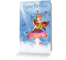 Birthday Card With Moonies Cutie Pie Fairy Greeting Card