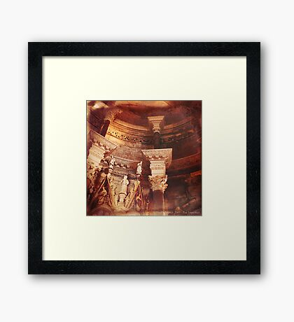 Past Imperfect - Cathedral Split, Croatia Framed Print