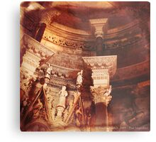 Past Imperfect - Cathedral Split, Croatia Metal Print