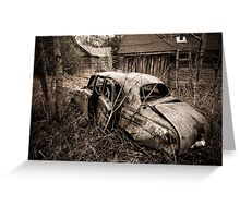 Not going anywhere anymore Greeting Card