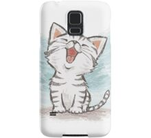 American Shorthair happy Samsung Galaxy Case/Skin