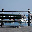 Harbor Side Bench by phil decocco