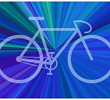 Bike Blue Gradient by mattclark