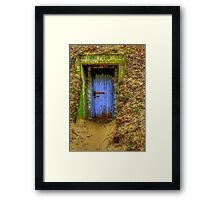 A Wolf at the Door  Framed Print