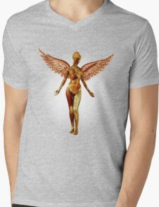 Nirvana T Shirt In Utero Mens V-Neck T-Shirt