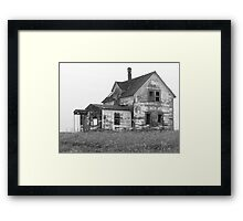 House On The Prairie Framed Print