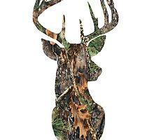 The Stag - Mossy Oak 2 by SClarkeArt