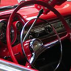 Symphony in Red vintage car by patjila