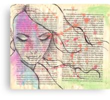 A Good Girl Canvas Print