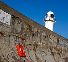 South Gare Lighthouse 001, Redcar in UK by Paul Berry