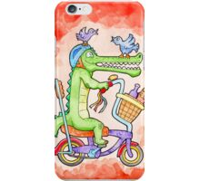 Cruising Croc iPhone Case/Skin