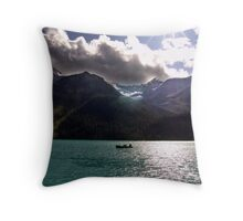 Floating in Paradise Throw Pillow