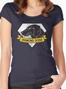 Diamond Dogs (MGSV) Women's Fitted Scoop T-Shirt