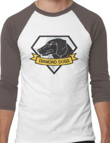 Diamond Dogs (MGSV) Men's Baseball ¾ T-Shirt