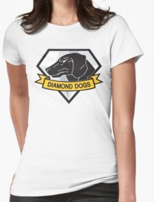 Diamond Dogs (MGSV) Womens Fitted T-Shirt