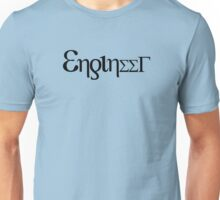 Engineer - Greek letters Unisex T-Shirt