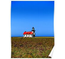 Point Cabrillo Lighthouse #1 Poster