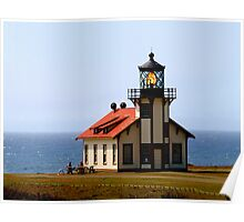 Point Cabrillo Lighthouse #3 Poster